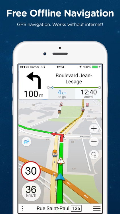 Navmii GPS Canada: Offline Navigation and Traffic