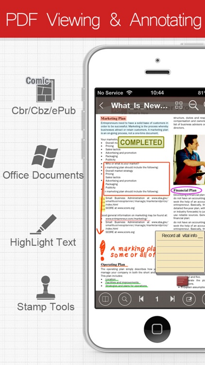 PDF Connect Suite - View, Annotate & Convert PDFs screenshot-4