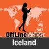Islandia mapa offline y guía de viaje