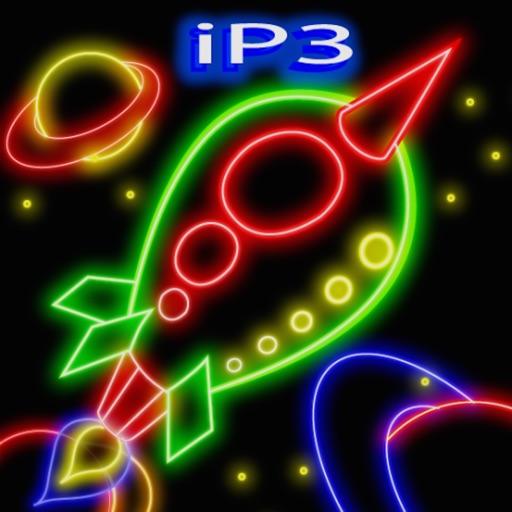 3D Glow Doodle iP3 for iPad