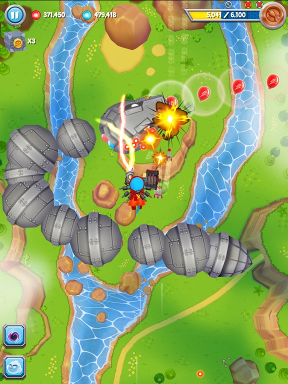 Screenshot #4 for Bloons Supermonkey 2