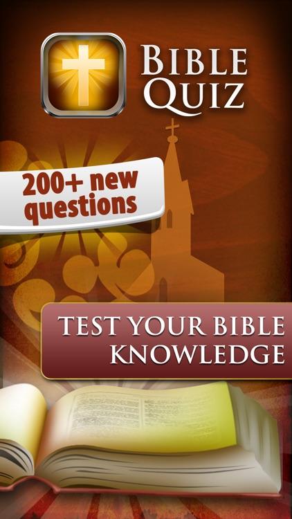 Bible Quiz Game Ⓑ