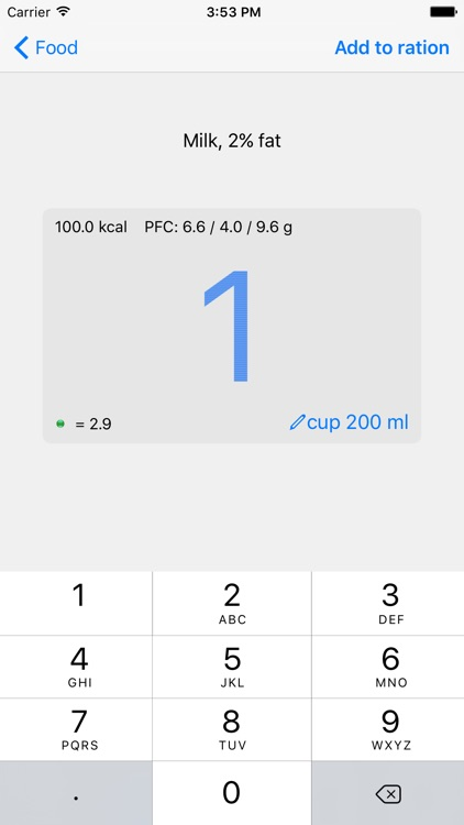 Noco Calories screenshot-3