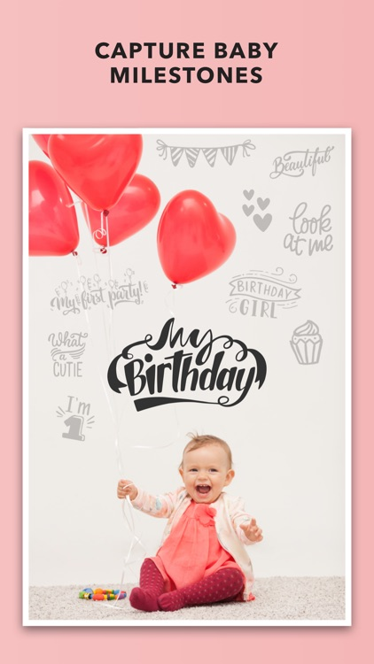Adorable - Baby Photo Editor for your Baby Pics screenshot-4