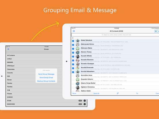 aContacts - All-in-One Contact & Group Manager, Contacts Sync,Backup,Clean for Google, Facebook screenshot