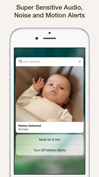 Cloud Baby Monitor ~ Video, Audio, Unlimited Range screenshot-3