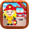 Fire Truck Fireman Jigsaw Puzzles Fun for Toddlers