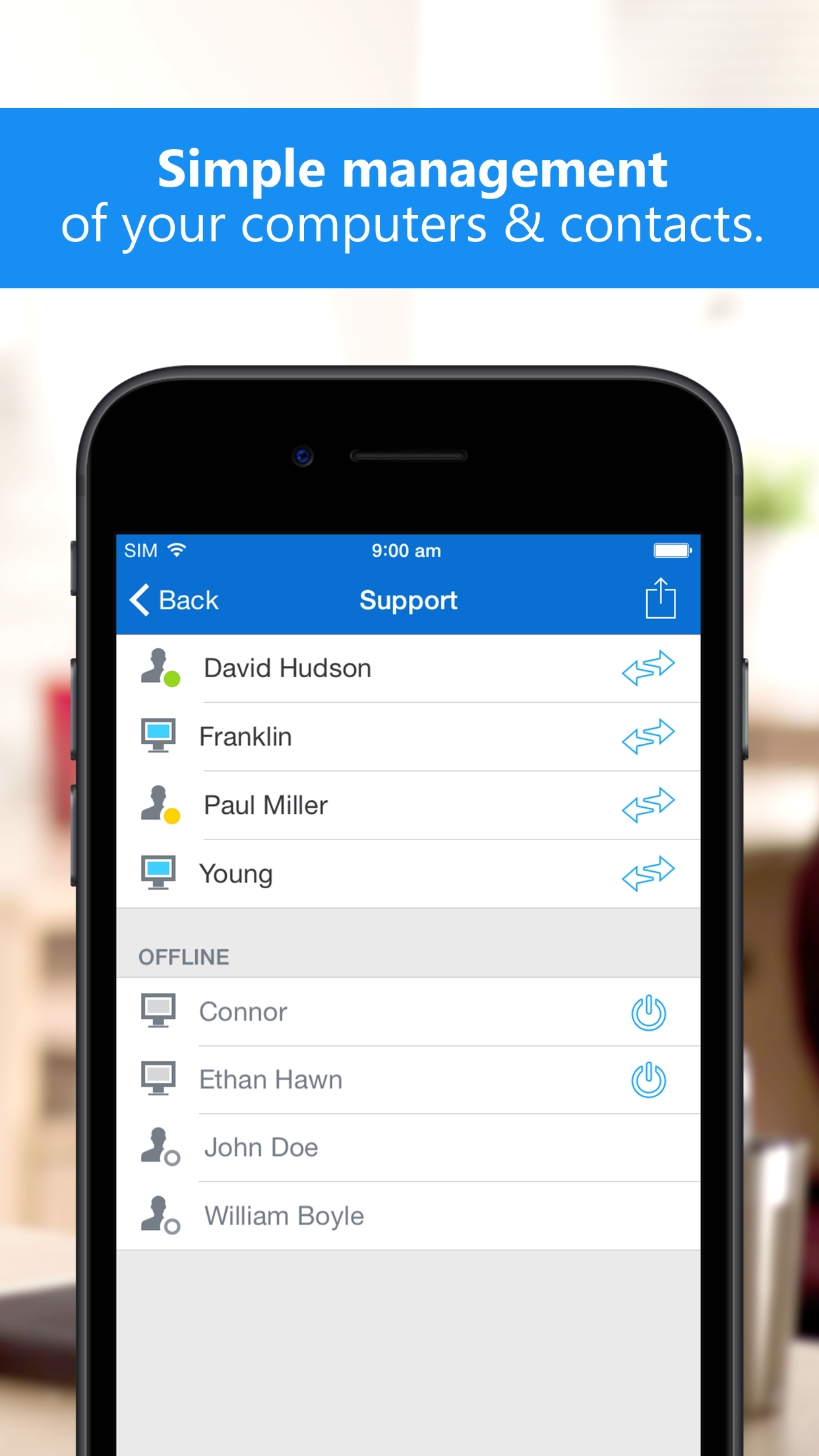 TeamViewer: Remote Control Screenshot