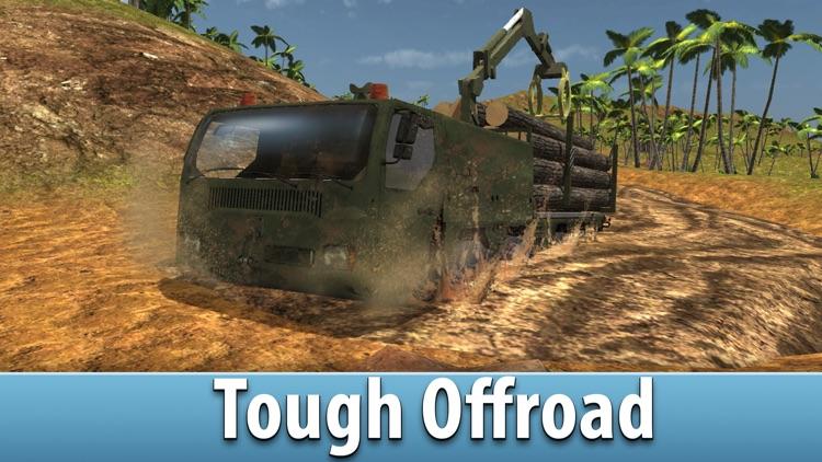 Jungle Logging Truck Simulator 3D Full