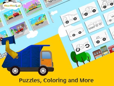 くるま, トラック, しょうぼうしゃ -子供のためのゲームのおすすめ画像2