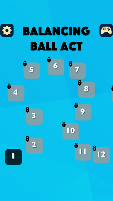 Balancing Ball Act screenshot one