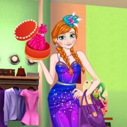 美丽公主的时尚装扮-换装类小游戏 快来试试给美女装扮吧