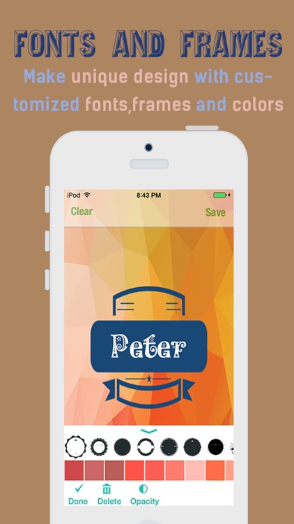 iPolygram- Create your own custom wallpapers and backgrounds screenshot-3