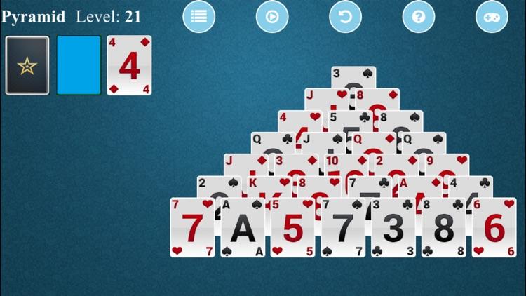 Pyramid Solitaire - Free Card Game screenshot-4