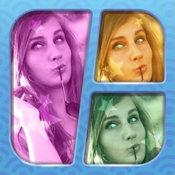 Collage Maker Photo Studio with Grid Layouts - Add cool Filters and Retouch Pics