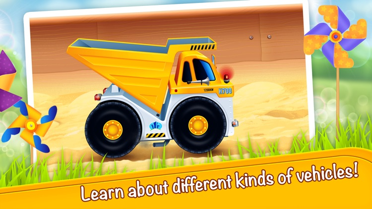 Cars in sandbox: Construction