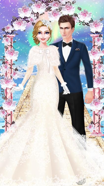 Snow Wedding Day - Girls Salon screenshot-3