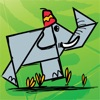 Kids Doodle & Discover: Safari Animals, K12 Puzzle