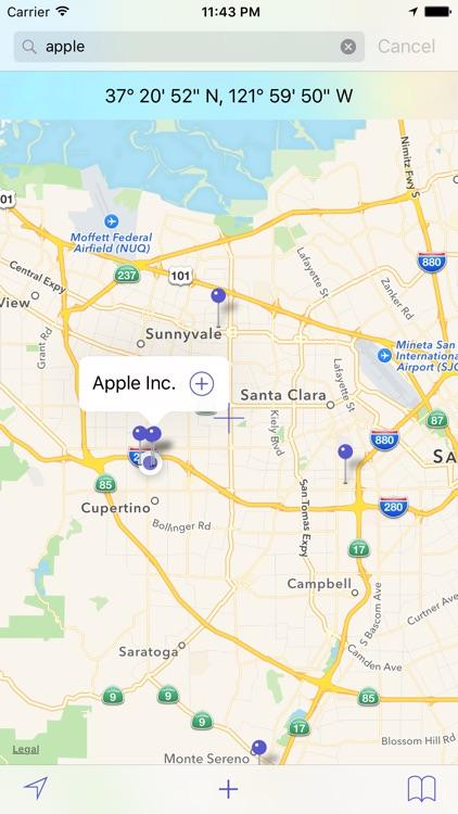 Geo Location - Searching GPS Coordinates