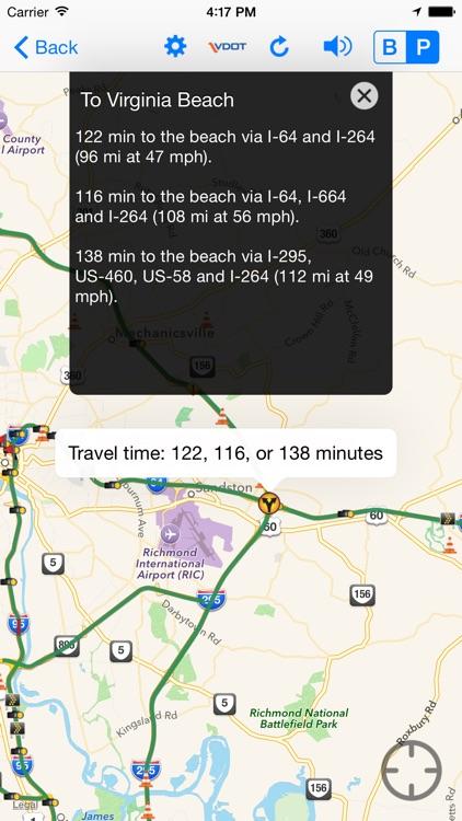 VDOT 511 Virginia Traffic screenshot-3