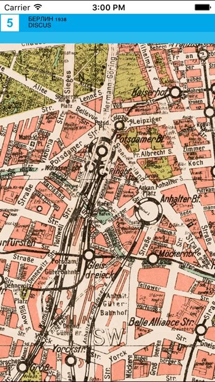 Berlin 1938. Historical map. screenshot-3