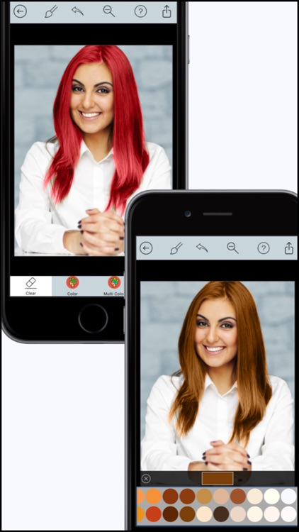 Hair Color Dye Pro - Recolor studio and Splash Effects Editor screenshot-2