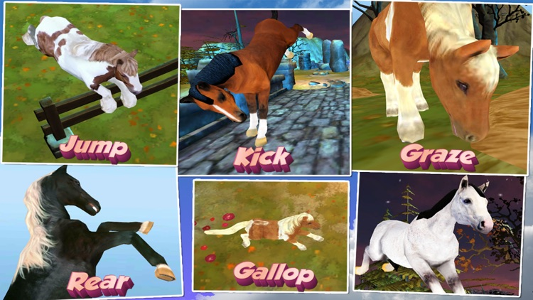 Horse Quest Online 3D Simulator - My Multiplayer Pony Adventure screenshot-3