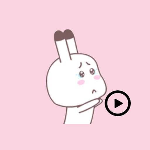 Animated Mola Rabbit stickers pack