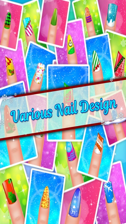 Christmas Nail Salon - Girls game for Xmas screenshot-4