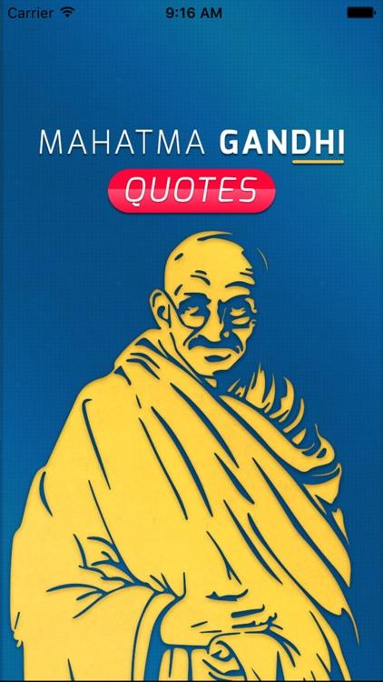 Great Quotes Biography & Saying of Mahatma Gandhi