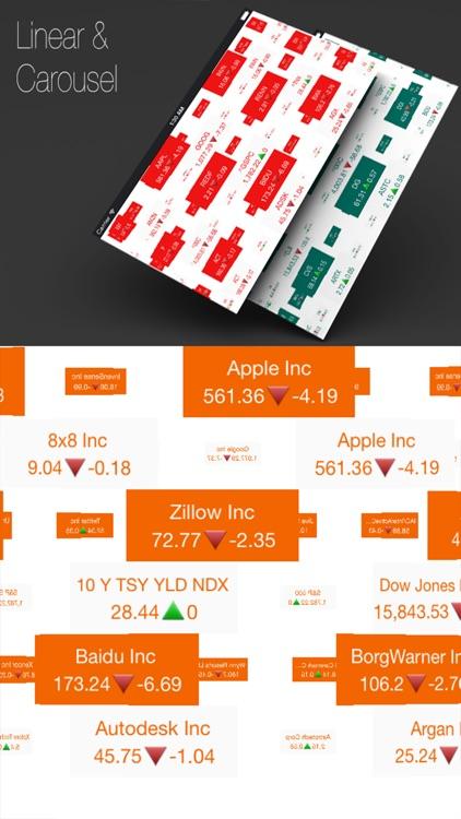Stocks Tape: Market Browser