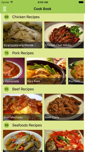 Filipino food recipes offline free on the app store iphone screenshots forumfinder Images