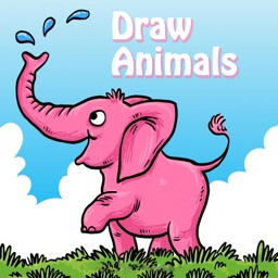 Draw Animals : Draw your pet - Painting for kids