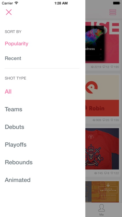 Dribbboard - client for Dribbble