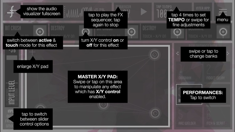 FLUX:FX play - the professional audio multi-effects engine by Adrian Belew screenshot-4