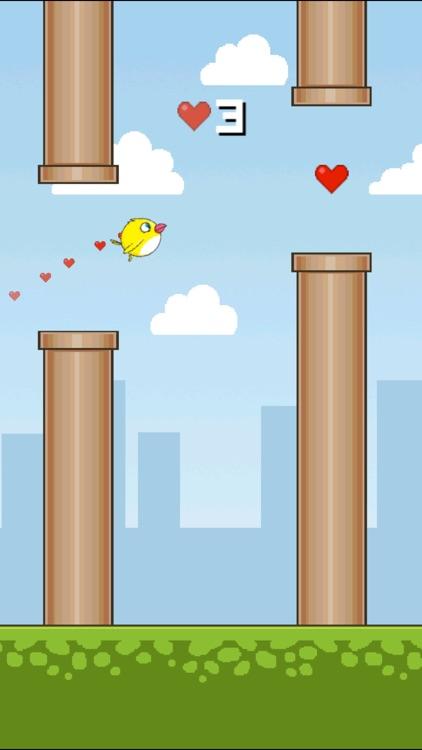 Tiny Flappy Love Bird - A clumsy little bird's endless adventure
