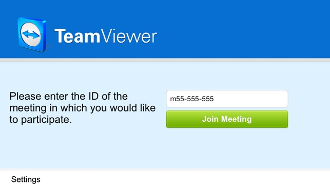 TeamViewer for Meetings on the App Store