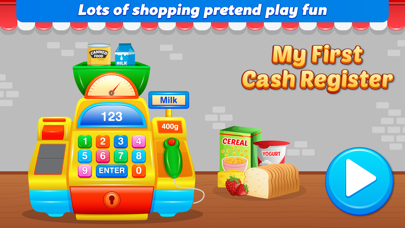 My First Cash Register Free - Store Shopping Pretend Play
