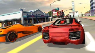 Burning Wheels Car Racer 3D screenshot one