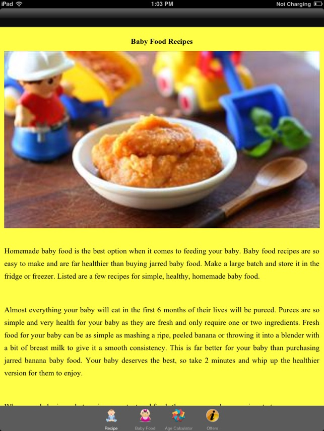 Baby food recipes pure and simple on the app store forumfinder Gallery