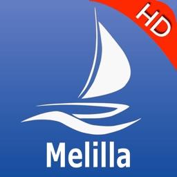 Melilla GPS Nautical charts pro