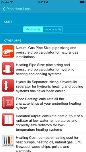 Pipe Heat Loss: Estimate heat losses from insulated pipes in