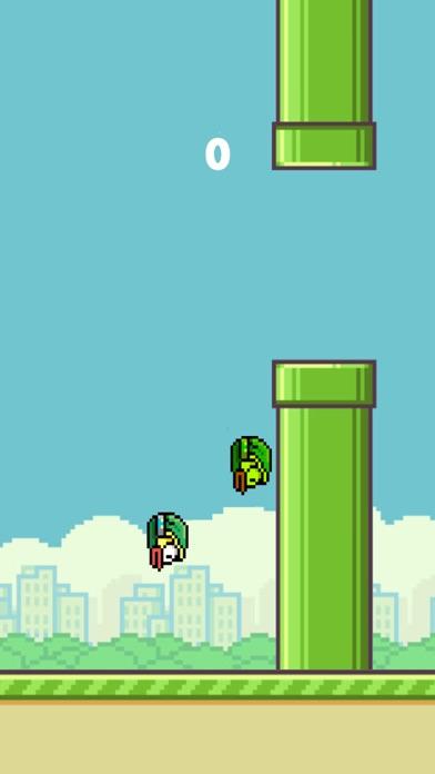 Flappy 2 Players - 彼らは鳥をピクセルのスクリーンショット4