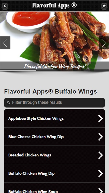 Chicken Wing Recipes from Flavorful Apps®