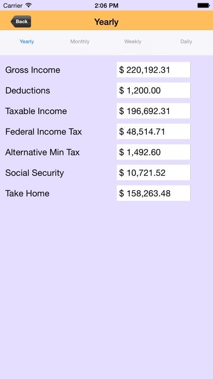 US TAX Calculator screenshot-4