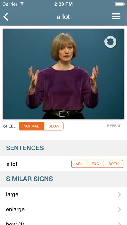 ASL Dictionary from NTID screenshot-4