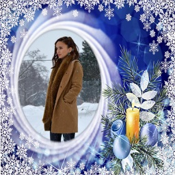 Winter Photo Frames Deluxe