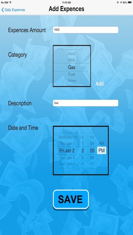 Daily Expenses Manager screenshot-4