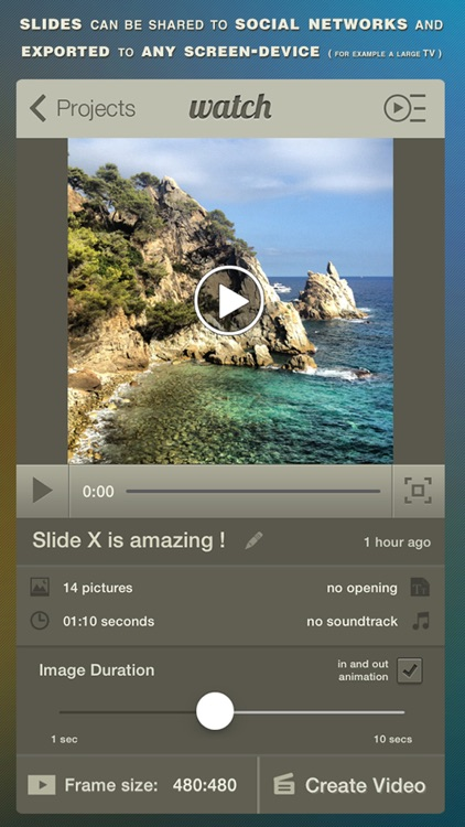 Slide X Pro ● Slideshow Creator ● Professional HD screenshot-4