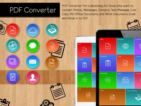 PDF Converter Pro : Convert documents, WebPages TO PDF , Air Printer   App  Price Drops